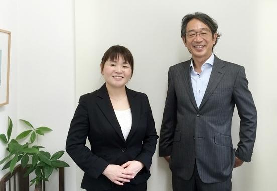 山田カウンセラーと竹内代表