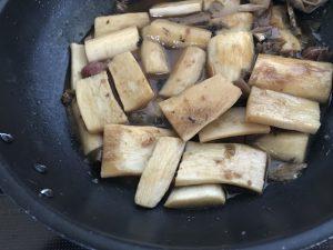 長芋煮物フライパン