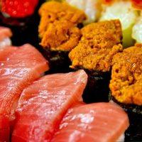 寿司、トロ、うに
